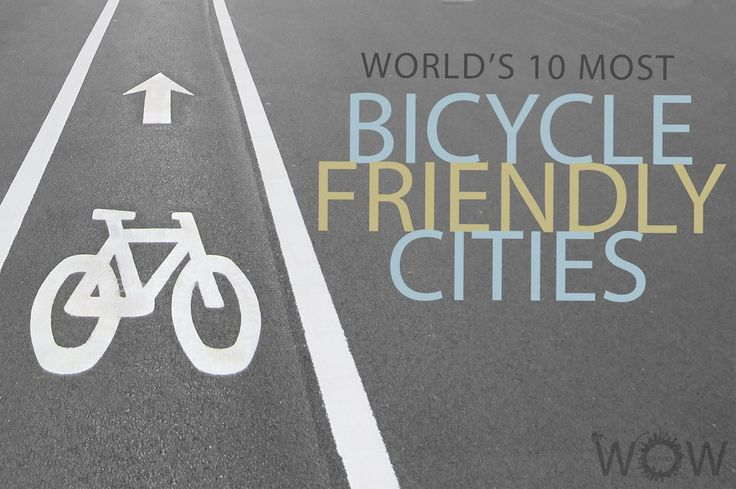 Our list of the World's 10 Most Bicycle-Friendly Cities has been made by different parameters such as bike facilities, social acceptance, and a general perception that cycling is safe.