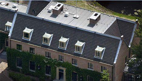 ... Villa De Eikenhorst, de woning van prins Willem Alexander, prinses Maxima en hun dochters. FOTO ANP