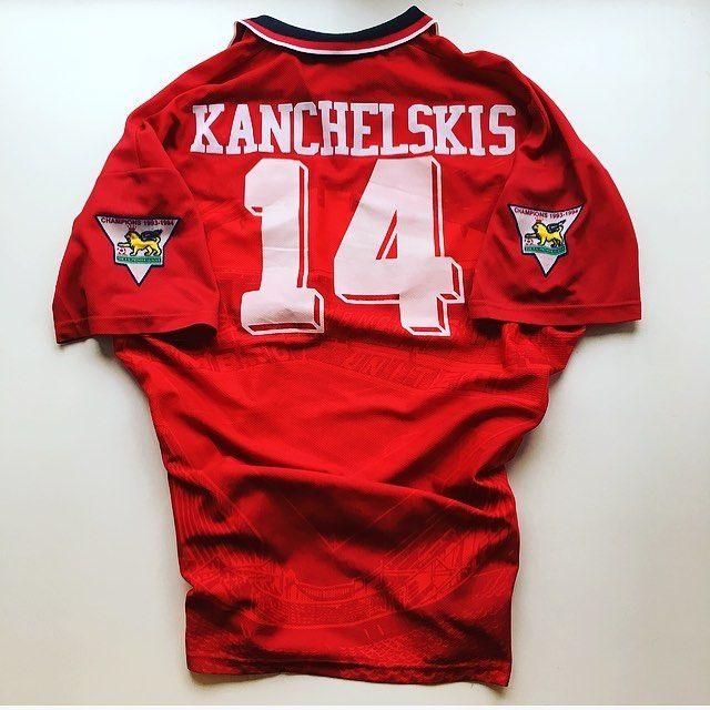 Kanchelskis United Home Shirt 1994/96 - link in bio ☝️ #kanchelskis #mufc #manchesterunited #manunited #manutd #oldtrafford #premierleague #premiership #football #footballshirt #umbro #umbrofootball #retro #retroshirt #retrofootball #retrofootballshirt #vintage #vintagefootballshirt #vintagefootball #soccer #soccerjersey #oldschool #90s #90svintage #90sfootball