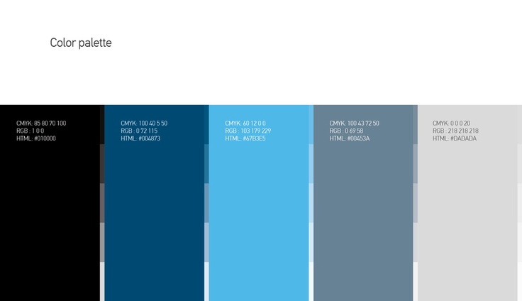Quality Performers - Color Palette