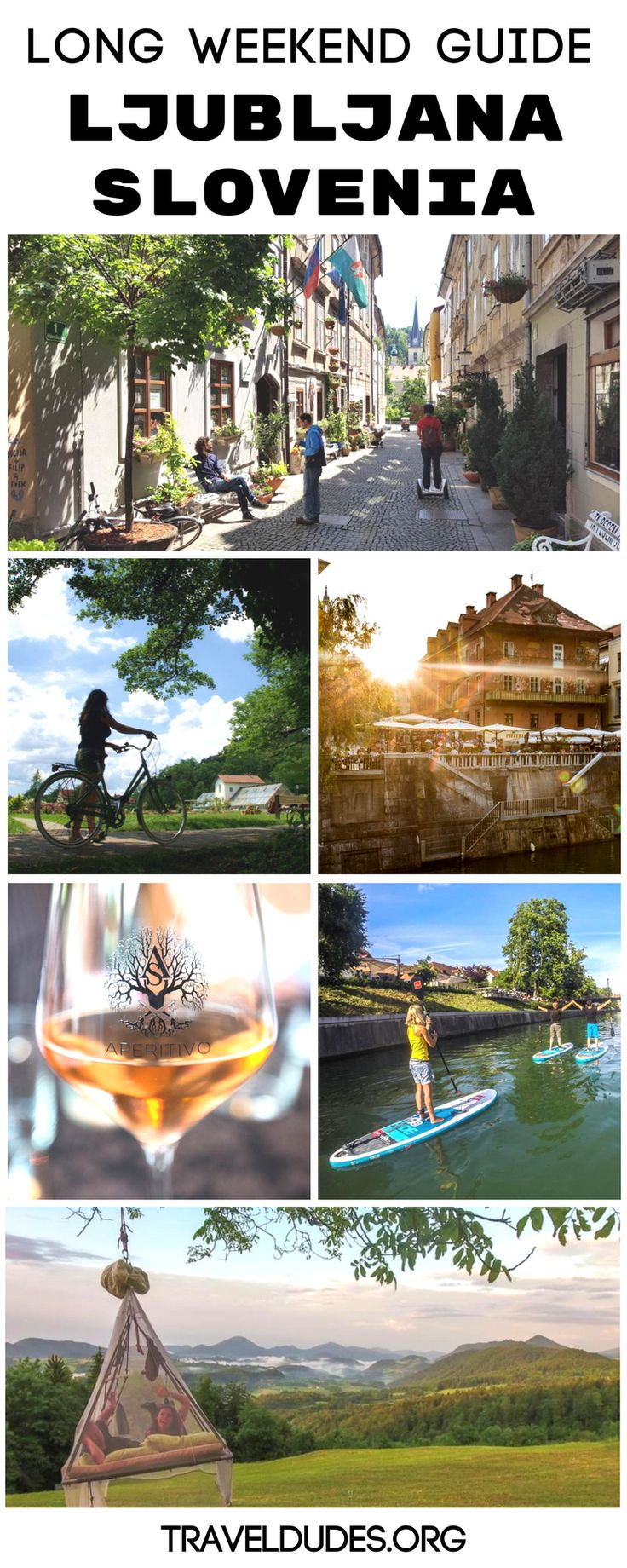 The Perfect Long Weekend Guide to Exploring Ljubljana, Slovenia. Spend 7 days in this East-European city and discover the best places for local food, beer, nightlife, cycling & kayaking tours, sleeping in a treetop, exploring the castle and the caves in the area! || TravelDudes Travel Community