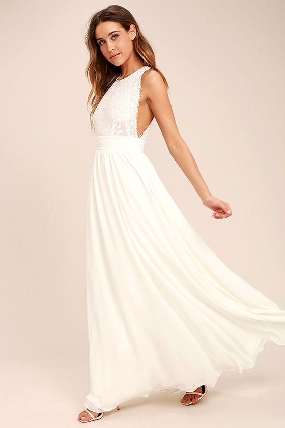 25+ bästa White lace maxi dress idéerna på Pinterest ...