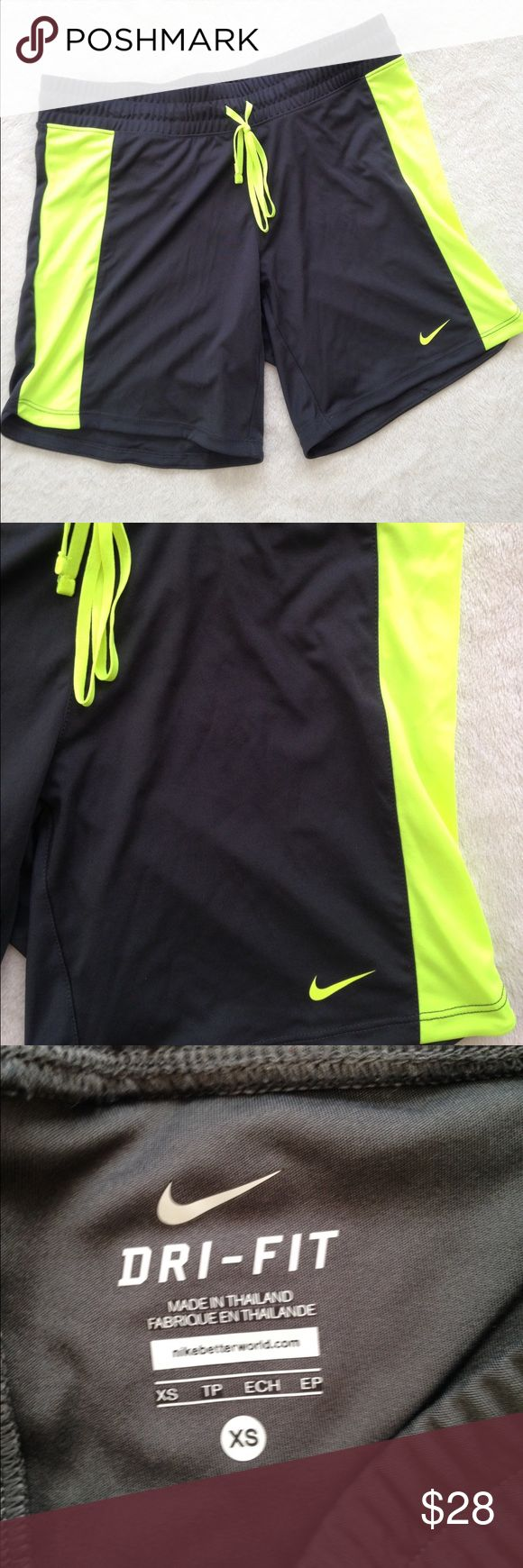BRAND NEW WITHOUT TAGS!! Nike dri fit shorts Never worn super cute Nike shorts!! Nike Shorts