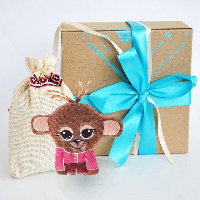 Символ года 2016: подарочный набор обезьянка