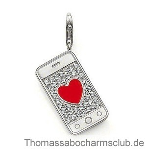 Thomas Sabo Wonderful Gemmy Envelope With Coronary Heart Charm
