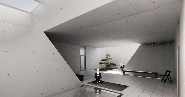 Inspiration hotel - hotel for artists in Cieszyn #architecture #render http://goo.gl/eXCH0y