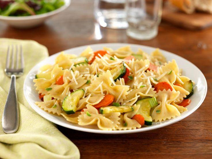 Dine Al Fresco with Barilla® PLUS® Farfalle with Zucchini, Carrots ...