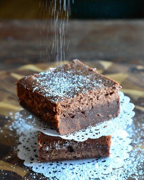 Nutella Cheesecake Brownies  -  Brownies de Nutella y creama de queso
