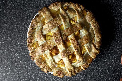 Pfirsichkuchen | geschlagene Küche. Das geht gleich in den Ofen. Ich habe es mit w …   – Favorite Recipes I've Tried