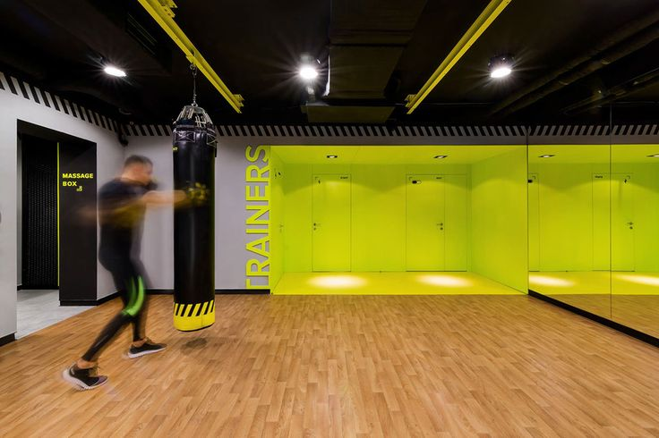 Gym-spiration: Soesthetic Group creates high-impact gym in Kiev ...