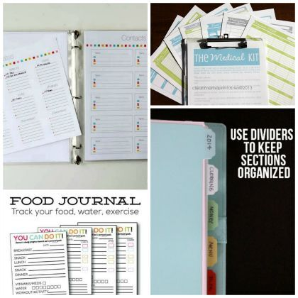 Jumpstart Your January! 15 Free printables to organize your home and family
