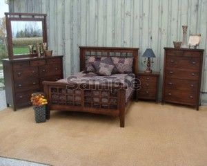 Set Tempat Tidur Minimalis MJ5008
