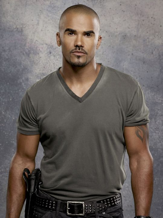 Shemar Moore (Derek Morgan can call me 'Baby Girl' any time)
