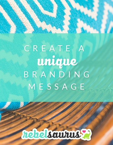 Learn how to hand-craft your own unique branding message for your online business so you convey what you want and stand out from the crowd.