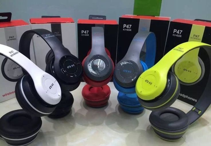 Casque Bluetooth 4.1 sans fil 3 en 1 Bluetooth Radio FM Lecteur MP3 Carte SD ERP