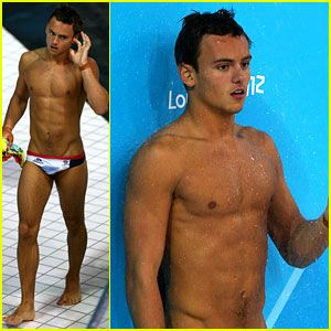 well hello there new and only olympic crush!! Tom Daley..BRITISH diver. 18 and hopefully single;)