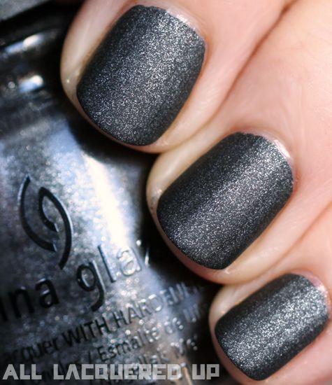 China Glaze - Stone Cold (omg a matte polish)