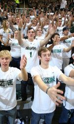 Tuesday night's Michigan State-Michigan game marks the first time in 170 all-time meetings that both the Spartans and Wolverines enter the contest ranked in the Top 10. The MSU Athletics Department is asking Spartan fans to wear white to Tuesday night's contest as a show of uniform support for the men's basketball team.
