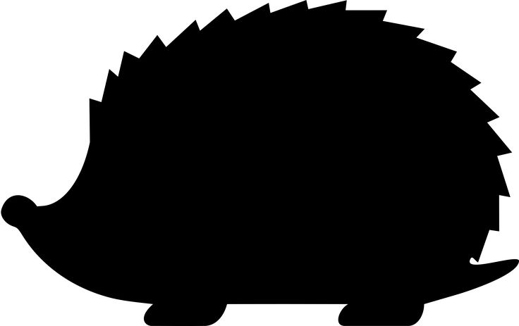 Hedgehog Silhouette by spacefem
