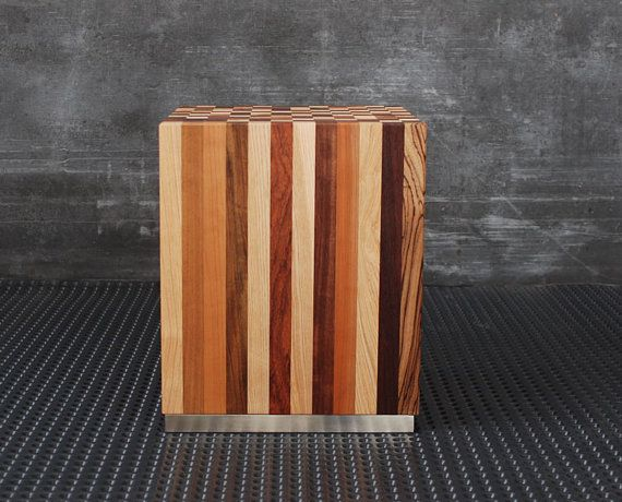 coffee table chair session stool modern by EbanisteriaCavallaro
