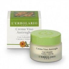 Calendula, sárgarépa és ginzeng tartalmú arckrém - Rendeld meg online! Lerbolario Naturkozmetikumok http://lerbolario-naturkozmetikumok.hu/kategoriak/arcapolas/arcapolo-kremek