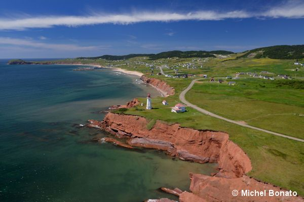 The Scenery - 7 Great Reasons to Visit the Magdalen Islands #Quebec