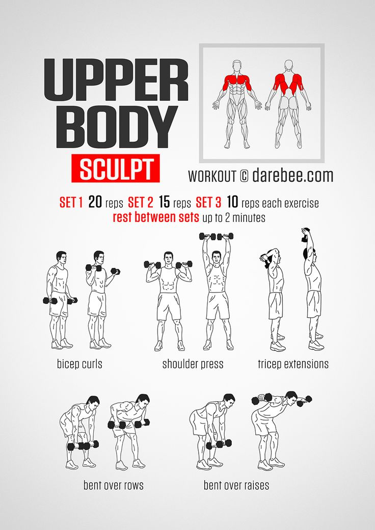 Upper Body Sculpt Workout