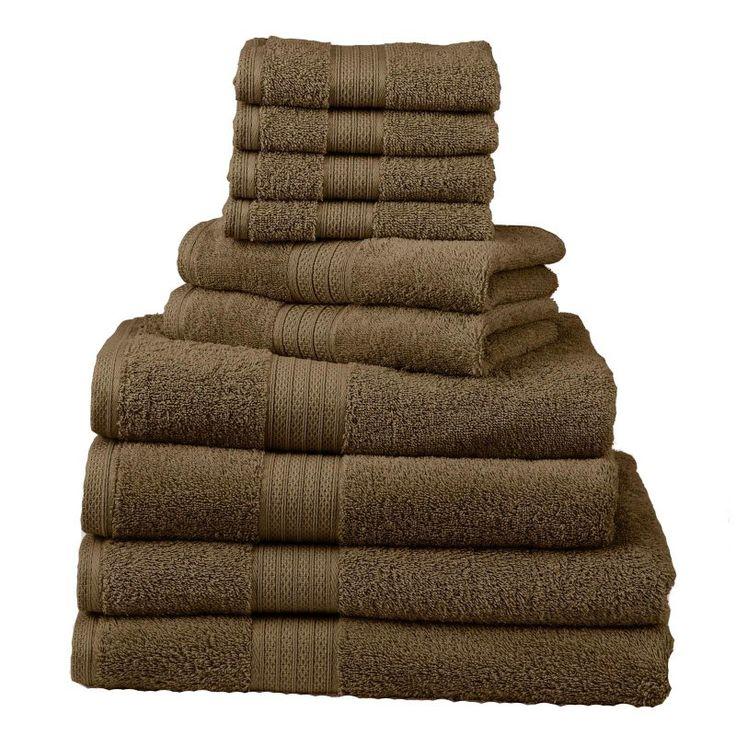 Divatex Home Fashions 12 pc. Towel Bath Towel Set