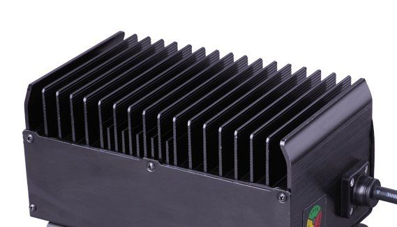 24v 25a comercial floor scrubber battery charger for hako