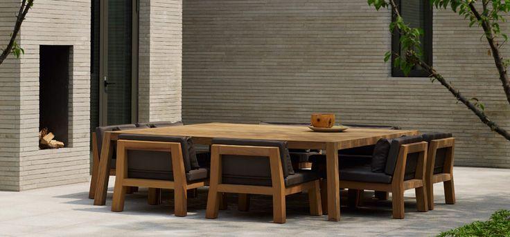 Piet Boon tafel Anne fauteuil Niek