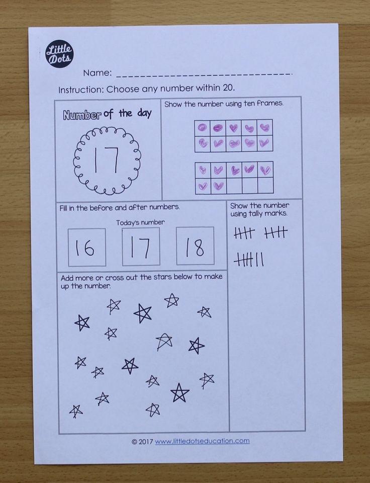 Printable Worksheets free tally mark worksheets 54 best NUMBER SENSE images on Pinterest | Numbers, Kindergarten ...
