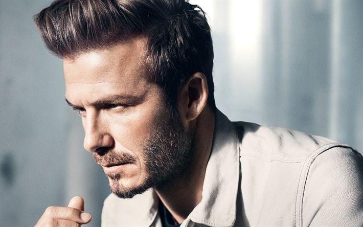 Download wallpapers David Beckham, 4k, portrait, English footballer, fashion model, handsome man, photoshoot