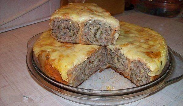 Meat pie pita