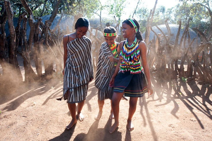 #tribe #dance #tradition #costume #girls #village #africa #beads #smile #music copyright by Luca Zordan