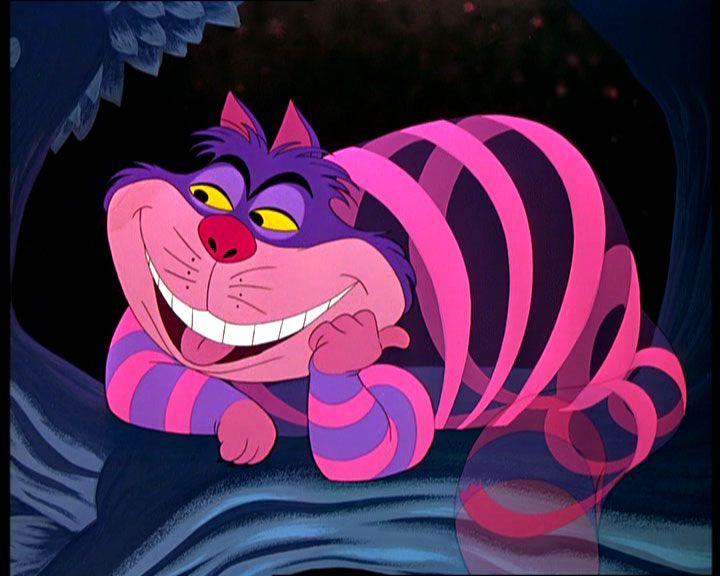 The Cheshire Cat in Alice in Wonderland #jester #archetype #brandpersonality