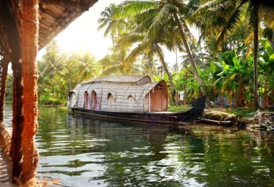 KERALA, INDIA A relaxing getaway doesn't get much more spiritual than visiting the birthplace of Ayurveda - one of the world's oldest holistic healing systems developed more than 3,000 years ago. Unwind in one of the many renowned spas or hire one of the symbolic thatched-roof houseboats for a day on the waters, floating past lotus-flowered rice paddies and ancient Hindu temples. Photo byheaven/123RF