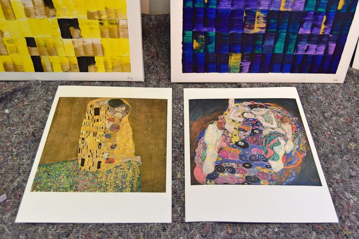"Exhibition ""Colors like Klimt"" Weilheim/Germany 2016, more here: astridstoeppel.com"