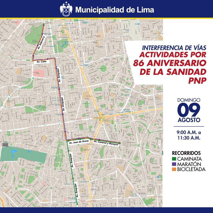 [Foto] Mañana habrá desvíos en calles de Lima por eventos deportivos