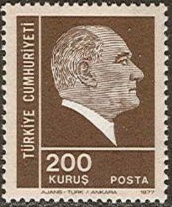 1977 Definitives, Ataturk