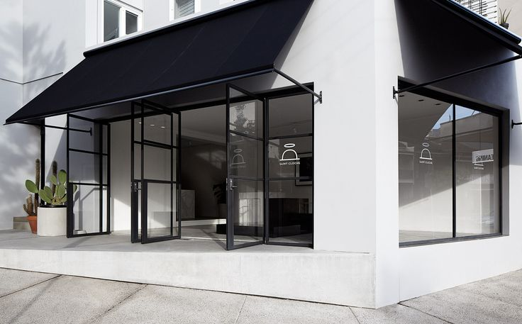 Saint Cloche art galery by Redgen Mathieson architects - Art 15 doors by Award Architectural Steel Doors
