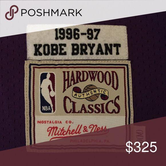 Kobe Bryant Authentic Original Lakers Jersey Kobe Bryant Authentic Rookie Year Jersey Tops