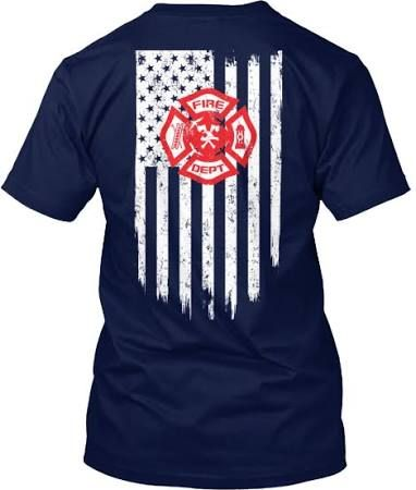 fire department supporter shirts - Google Search