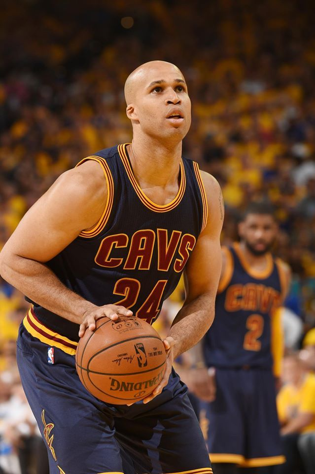 Richard Jefferson is starting for Kevin Love (concussion). The last time he started an NBA Finals game was 2003, where he faced off against Steve Kerr (Spurs).