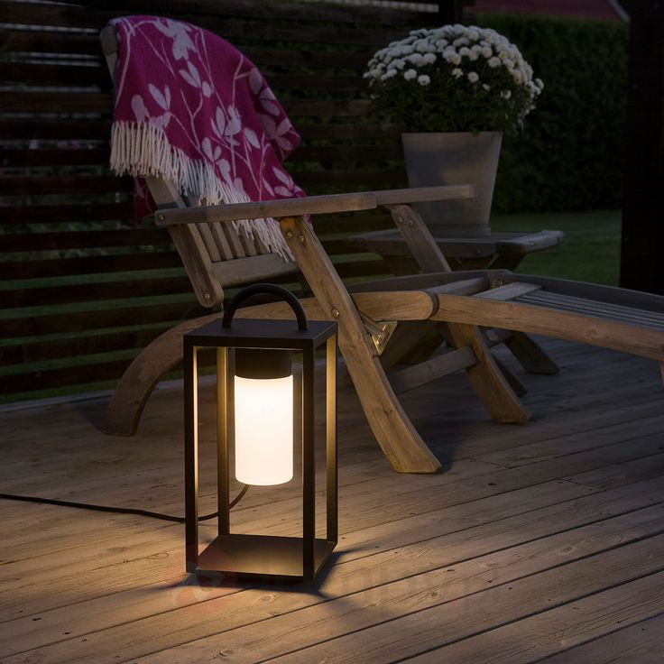 Ozdobny lampion podłogowy LED Bologna 5522514