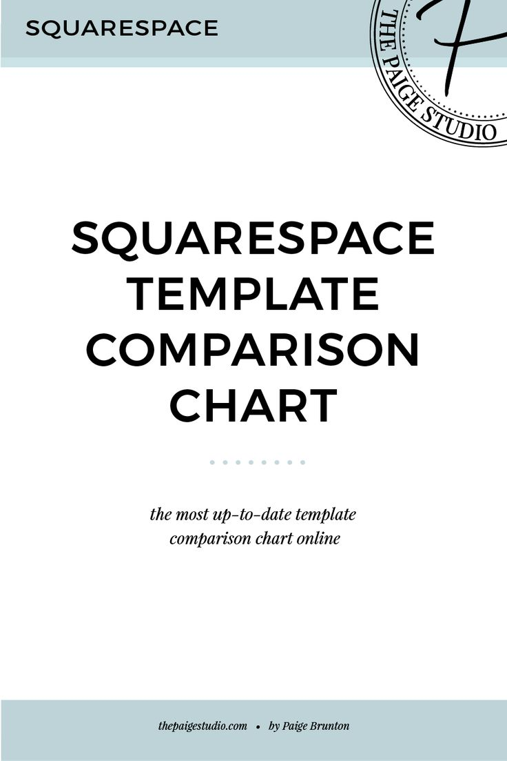 When choosing a Squarespace template, it's massively handy to see all of  their abilities side by side.  In an effort to help you pick the right Squarespace template for your  project, my goal is to keep this Squarespace comparison chart the most up  to date on the internet.  This table will