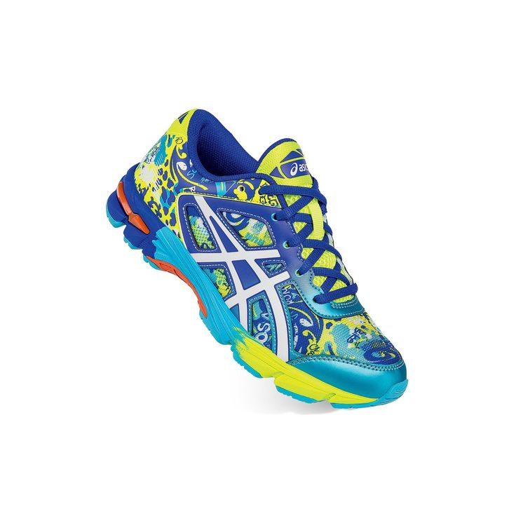 ASICS GEL-Noosa TRI 11 Grade School Kids' Running Shoes, Boy's, Size: 1, Drk Yellow