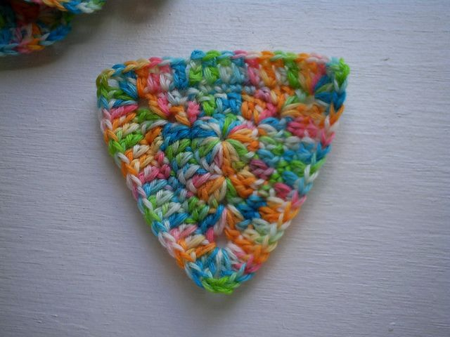 Ravelry: Crochet Ultimate Crochet Triangle Pattern pattern by Grace Ann- would make a cute rug or placemants