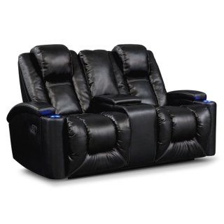 [Polaris Gliding Reclining Loveseat]