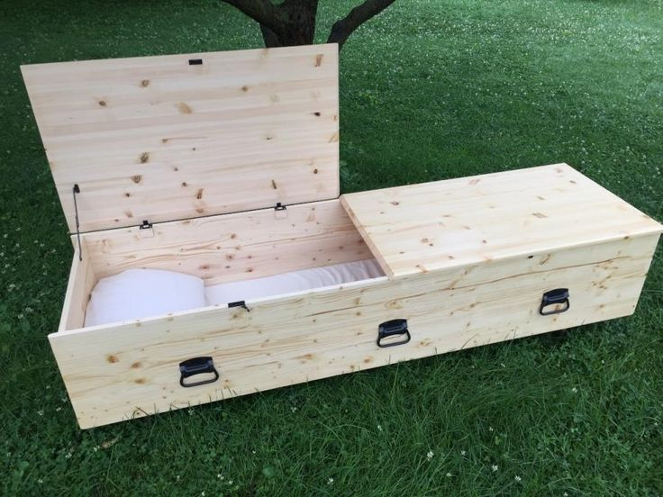 Simple Pine Casket - Woodworking creation by Michael Ray