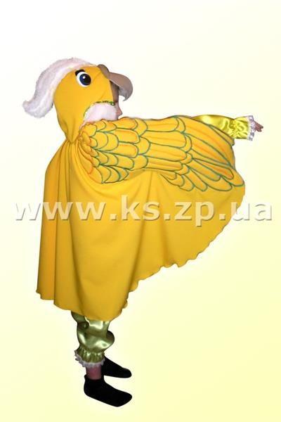 Новогодний костюм попугая для мальчика